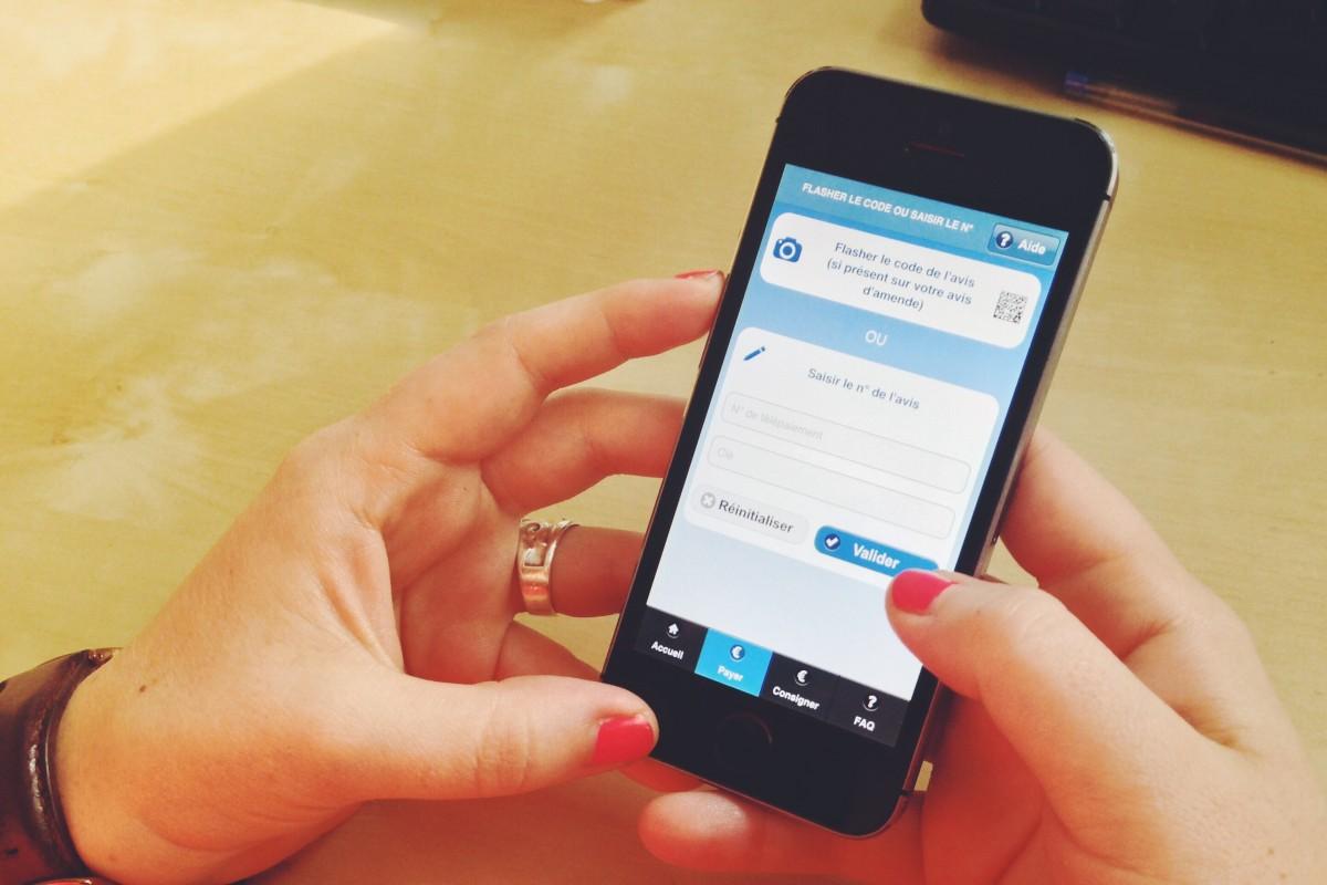 Payer ses amendes sur son smartphone : comment ça marche ?